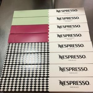 ネスプレッソコーヒーカプセル収納♪