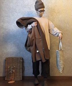 イロチ買いしたブラウンを装着な●今日のスタイル●しまむら・アベイル・GU・ゴーシュ・DAISO・AURORASHOESなど