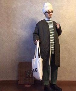 しまむら しまちゃんでまたアウター買う💦そして装着な●今日のスタイル●しまむら・アベイル・UNIQLO・GU・A.P.C.・チチカカ・ブランドストーンなど