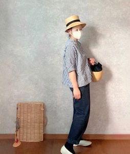 BERRETTA装着してもおぢちゃんチックな●今日のスタイル●しまむら・無印良品・・GU・Lin  francais  d'antan・VIEILLEなど