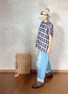 プチプラでまたアベイルちゃんのデニム装着しちゃうしな●今日のスタイル●しまむら・アベイル・無印良品・aurorashoesなど
