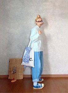 水色だったり青色だったりな●今日のスタイル●しまむら・アベイル・UNIQLO・オールドマンズテーラー・A.P.C.など