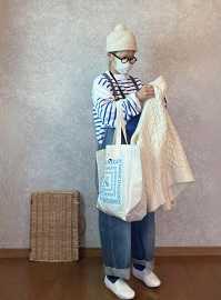 買いました物のコトと●今日のスタイル●しまむら・アベイル・OUTIL・journalstandardLuxe・FREAK'S STORE・付録バッグなど