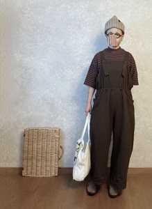 しまむらしまちゃんでサロペを買うそして装着な●今日のスタイル●しまむら・アベイル・GU・OSAMUGOODSなど