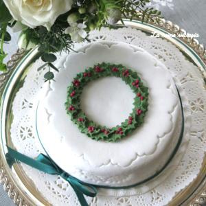 2種類の英国クリスマスケーキ♡