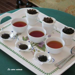 紅茶の産地別 3種類テイスティング♡