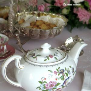 ベーシックコース 紅茶の歴史を訪ねて ネオロココ&シノワズリのテーブル♡