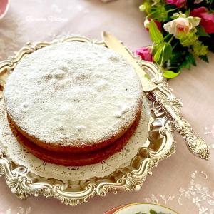 正統派ヴィクトリアサンドイッチケーキ♡