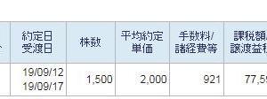 京浜急行電鉄1500株全株売却