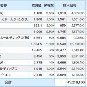 マイナス1139万円_| ̄|●