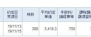 ジェイテックコーポレーション300株新規購入