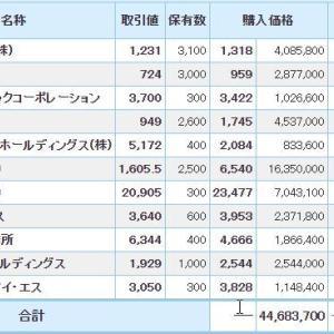 マイナス1126万円_| ̄|●