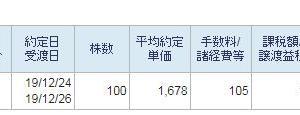 日本製鉄損切り2019~その4