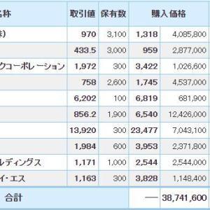 マイナス7133万円_| ̄|●