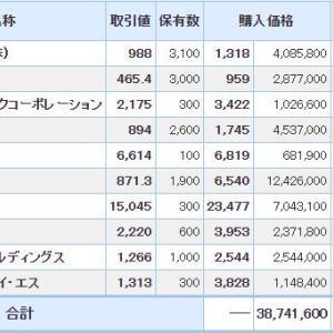 マイナス6918万円_| ̄|●