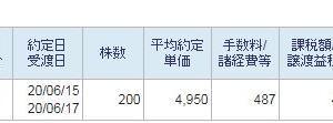 ウチダエスコ200株新規買い