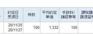 日本製鉄損切り2020 その四