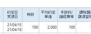 日本製鉄損切2021 その六