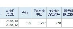 日本製鉄損切2021 その八
