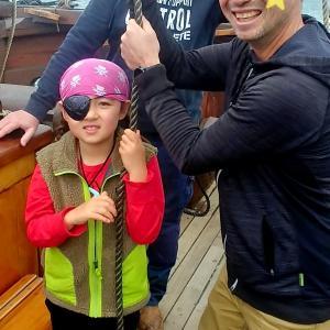 海賊船に乗る