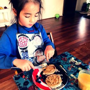 3連休の朝食