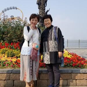 10/20 10月の韓旅⑪仁川編②月尾島で新鮮な貝焼き食べ放題を楽しみ〆はカルグクスで