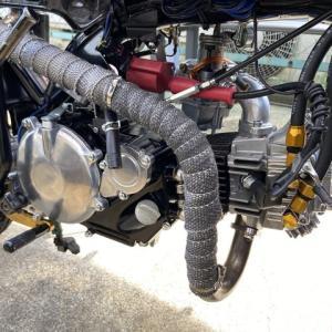 モンキー ショートストローク 49cc テスト