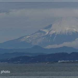 富士山どーん