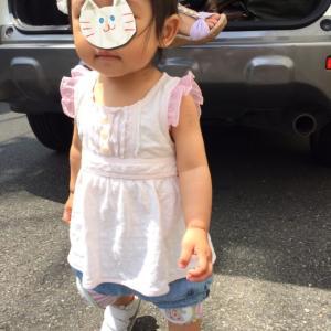 【1歳2か月】次女の夏コーデ
