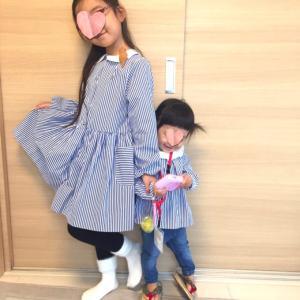 【JACADI】完璧かと思いきやツッコミどころ満載な姉妹コーデ