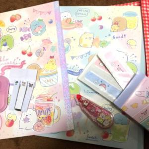 ファンシ~なショップが大好きな娘が買ったもの!(小学校は色付きの消しゴム、ペンケースが禁止?!)