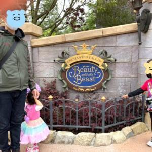 """家族ディズニー!「当たったぁああ!」美女と野獣""""魔法のものがたり"""""""