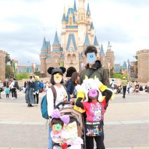 「これもOKなの?!」家族写真をフォトグラファーさんに撮ってもらったよ♪(家族ディズニー)