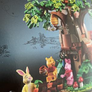 プーさんのLEGOが名盤すぎて手を付けられない…また積LEGOか…