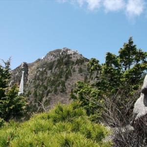 鈴鹿山 御在所岳・国見岳(1) 日本百名山へ入れてみたい近畿の名山
