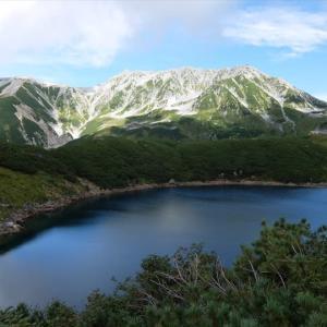 北アルプス・別山から雄山までの縦走(1)