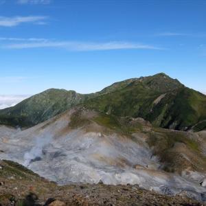 北アルプス・立山 別山から雄山までの縦走(3) りんどう池・雷鳥平