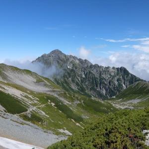 北アルプス・立山 別山から雄山までの縦走(5) 剱御前小屋から別山へ