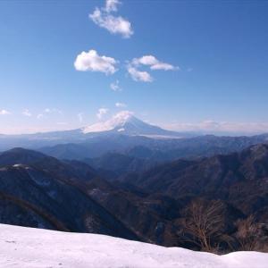 丹沢 年末に雪の塔ノ岳へ