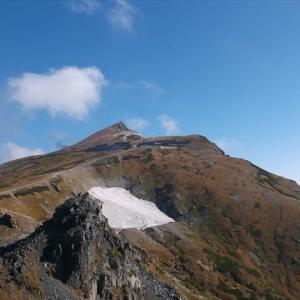 北アルプス・白馬岳(4) 山頂から白馬山荘・杓子岳へ