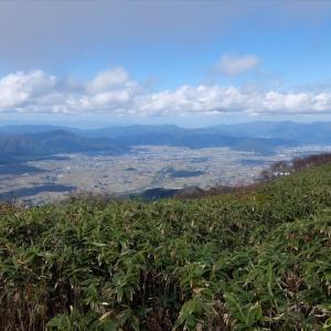 荒島岳 ブナの原生林と眺望の山