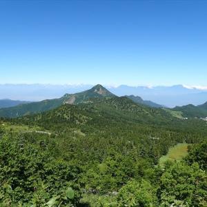志賀高原・横手山から芳ヶ平湿原へ(1)