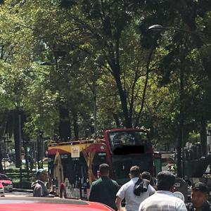 メキシコシティの2階建観光バスTuribusに乗ってみた