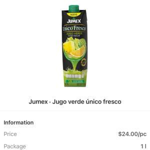 メキシコの青汁 jugo verde 飲み比べ