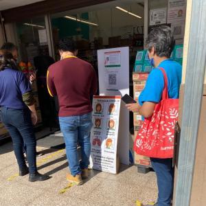 外出に携帯必携、メキシコシティの新コロナ対策