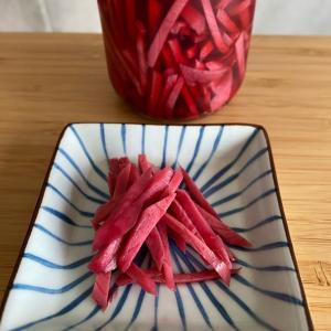 メキシコで紅しょうが作ってみた。