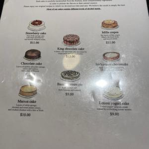 Harbsのショートケーキと日本人の接客