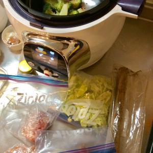 冷蔵庫のあり合わせで出来た夕食
