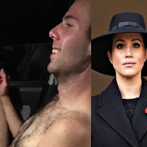 メーガン・マークルのゲイの甥っ子トーマス・ドゥーリ―、覚せい剤中毒で裸で徘徊中に逮捕の衝撃写真