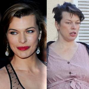 えっ、あなた本当にミラ・ジョヴォヴィッチ?! 劣化、老化、それともただの妊娠太り?